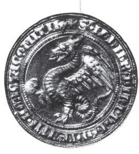Sigillo di Ildibrandino Cacciaconti, XV secolo