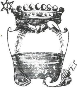 Stemma Famiglia Cacciaconti di Girolamo Gigli, 1723